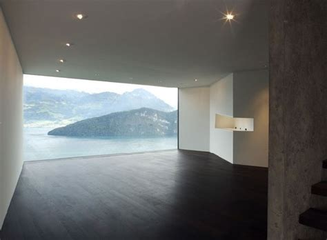Modern Concrete Home Overlooking the Swiss Alps ? Enpundit