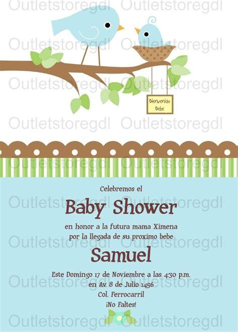 invitaciones baby shower personalizadas nio y nia 70