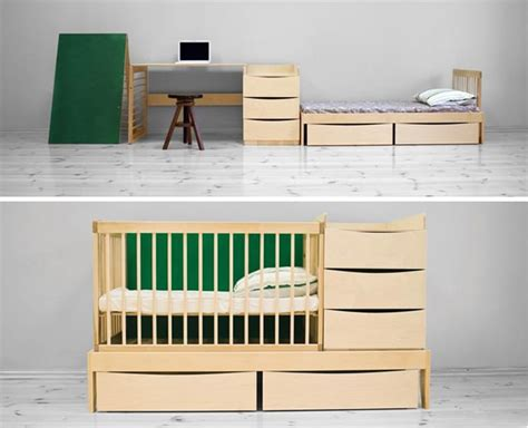Multifunctional Furniture That Can Be Used From Newborn