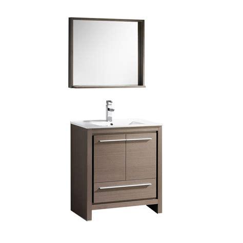 29 inch vanity cabinet 29 5 inch single sink bathroom vanity in gray oak with