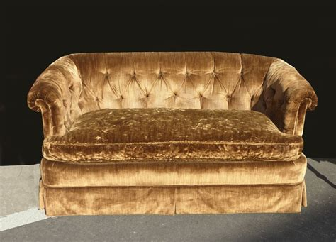 Henredon Settee by Details About Green Sofa Vintage Regency