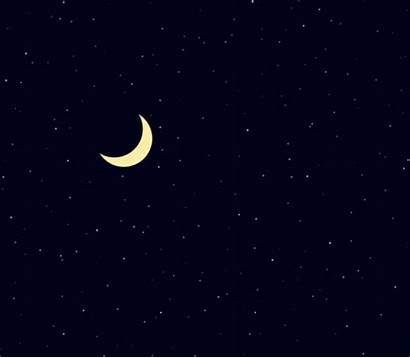 Starry Sky Moon Canvas Html5 Night Try