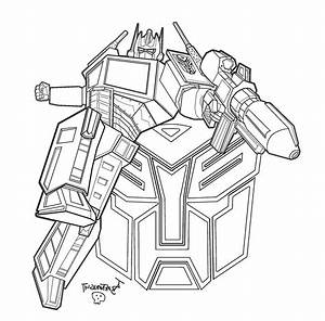 Disegni Da Colorare Transformers Optimus Prime