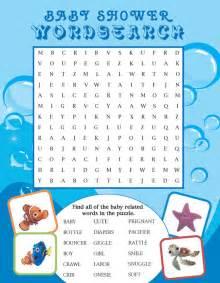 Under Sea Baby Shower Games