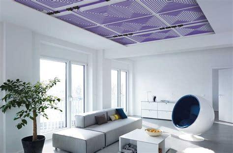 pannelli radianti soffitto riscaldamento a soffitto funzionamento pro e costi