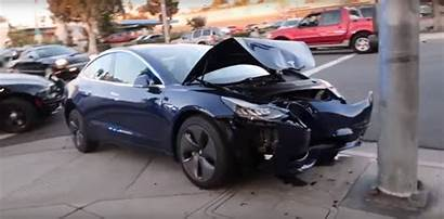 Tesla Crash Pole Test Head Clears Unofficial
