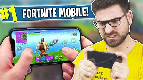 fortnite mobile su iphone  youtube