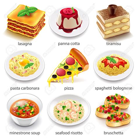 cuisine free pasta clipart italy food pencil and in color pasta