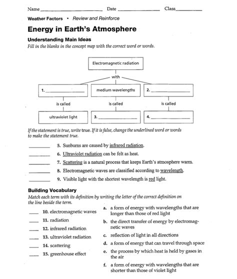 8th grade earth science worksheets worksheets for all