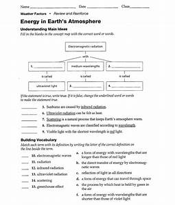 12 Best Images Of Earth Science Worksheet Answers