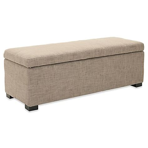 large storage bench safavieh large storage bench bed bath beyond
