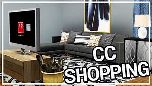 Sims 3 Custom Content Shopping #8: HUGE HOME DECOR HAUL ...