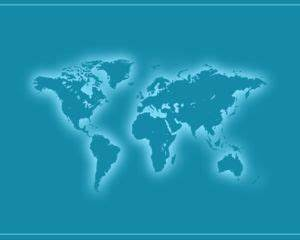 Free World Continents Powerpoint Template