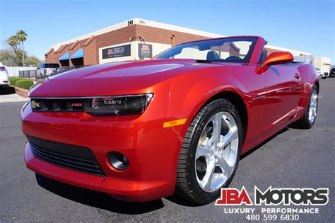 2015 Chevrolet Camaro 15 Camaro 2lt Rs Package Convertible