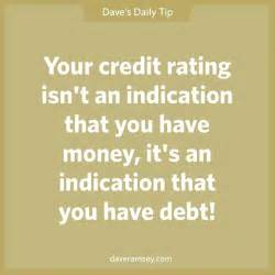 Credit Dave Ramsey Quote