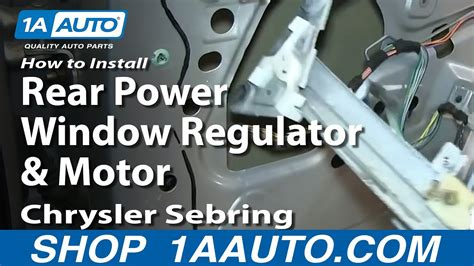 hayes auto repair manual 2003 chrysler sebring windshield wipe control service manual how to replace 2003 chrysler sebring window motor how to install replace fix