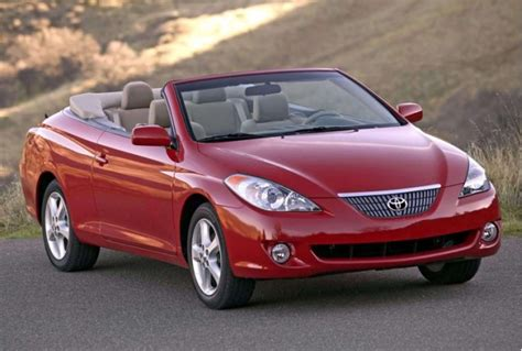 2008 Toyota Solara Convertible by Toyota Won T Restart Production Of Camry Solara Convertible