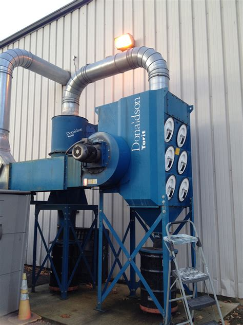 Industrial Dust Collection System Increases in Size and ...