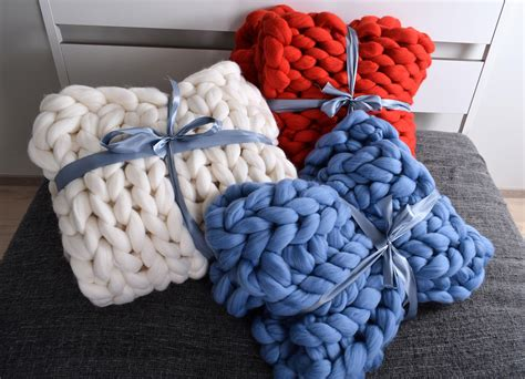 Chunky Knit Blanket Blanket Super Chunky Blanket Giant Knit Lightweight Cotton Blanket Twin Thick Wool Blankets Chunky Crochet Bed Dimensions What Bacon For Pigs In Puppy Baby Jackson Aden And Anais Dream Babies R Us
