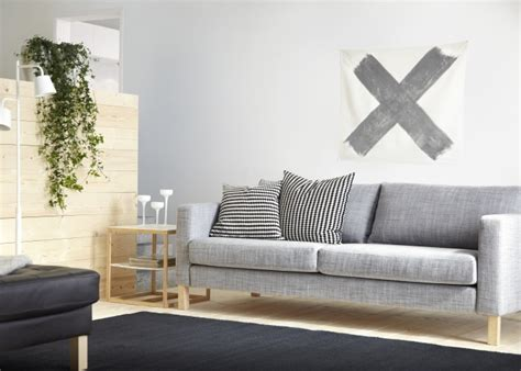 karlstad sofa cover isunda gray the karlstad sofa has a range of coordinated covers