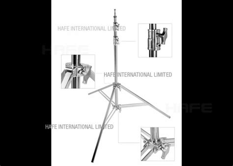 adjustable tripod light stand heavy duty stainless steel
