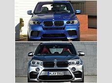 Photo Comparison 2015 BMW X5 M vs the Original
