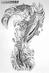 Koi Tattoo Vorlagen : tattoo vorlage im japanischen stil sperlich leipzig in koi fisch vorlagen ~ Frokenaadalensverden.com Haus und Dekorationen