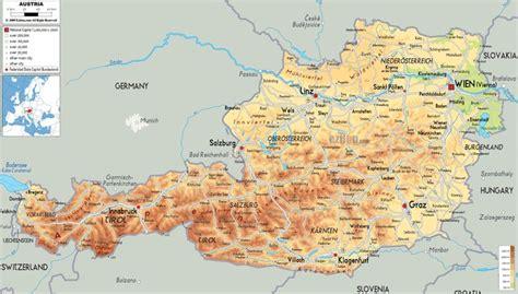 oesterreich landkarte oesterreich austria pinterest