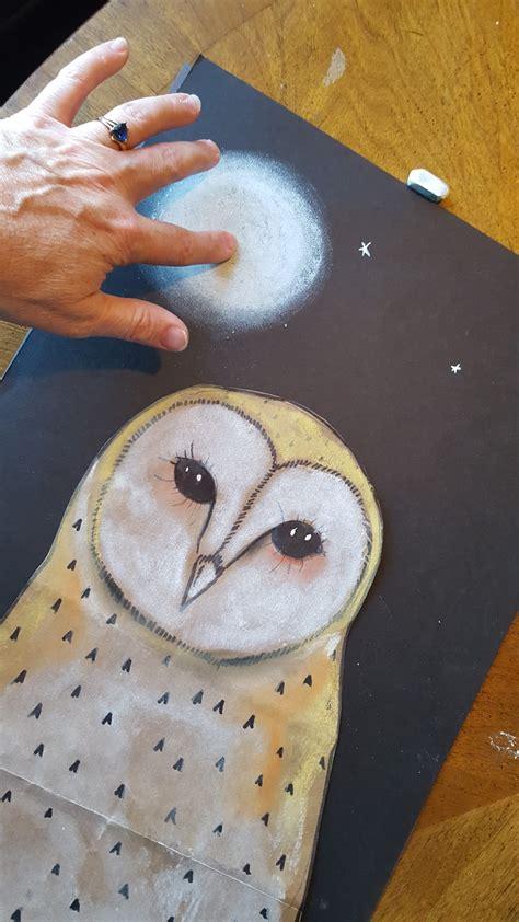 marymaking paper bag owls   sharpie art workshop