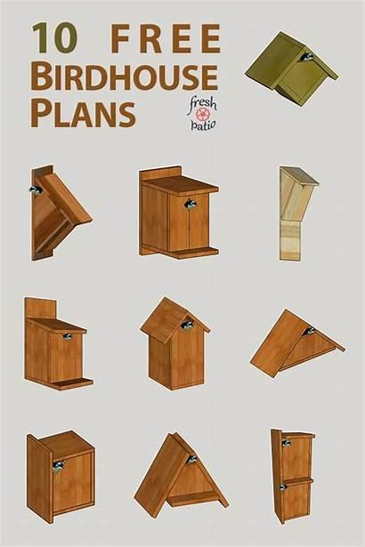 Plans Birdhouse Simple Diy Designs Build Bird