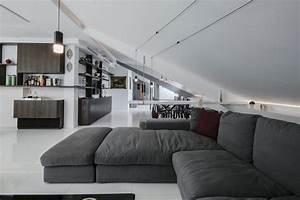 interieur de maison moderne un duplex avec toit terrasse With voir interieur maison moderne