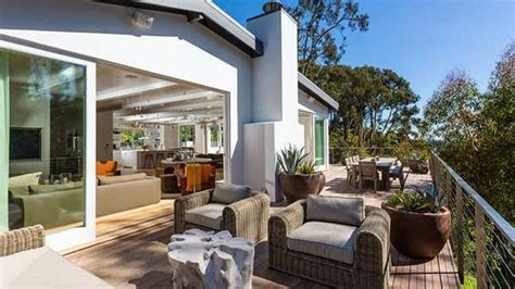 Malibu Home Casual Beachy Vibe by And Rande Gerber Sell Malibu Mansion