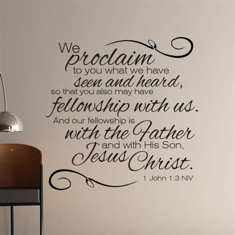 1 John 13 Scripture Wall Art  Divine Walls
