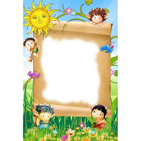 Cornici Colorate Per Bambini 4 Cornici Per Calendari Bambini Openprint S R L S