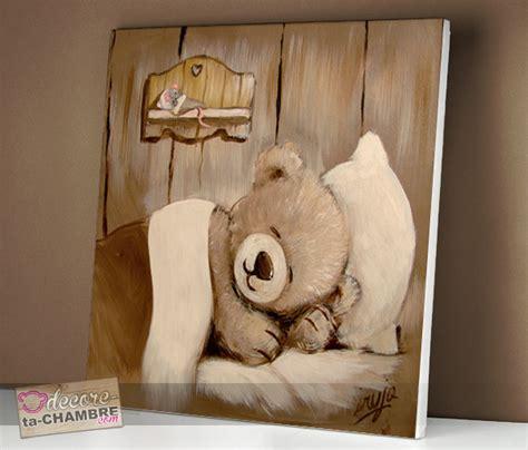 decore ta chambre tableau ourson souris pour la dco de bb vente tableau
