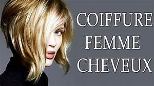 Coup De Cheveux Femme : coiffure femme cheveux 2018 coupe de cheveux femme 2018 ~ Carolinahurricanesstore.com Idées de Décoration