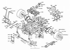 Dixon Ztr 428  1988  Parts Diagram For Chassis Assembly