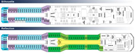 Reflection Deck Plan 12 by Would Your Opinion Page 2 Cruise Critic Message
