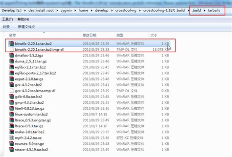 已解决 cygwin下ct ng build编译crosstool ng出错 the binutils 2 20