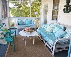 Create, Beach, Bliss, With, A, Blue, Porch, Floor