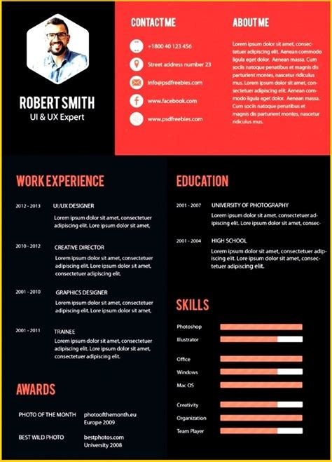 Modern Resume Template Free by Free Modern Resume Templates Microsoft Word Modern