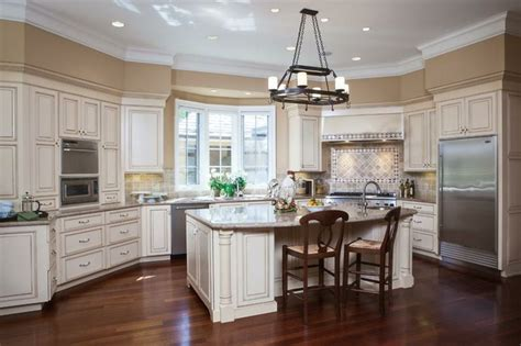 white glazed kitchen cabinets white glazed with stainless appliances kitchen with 1311