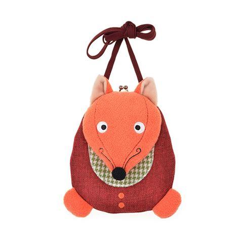 jual emily labels manor fox 03 tas selempang anak