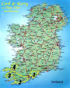 West Ireland Map
