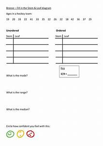 Stem And Leaf Differentiated Worksheet  U0026 Flipchart By