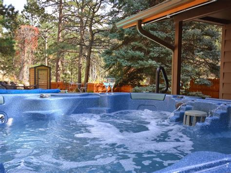 cottages with pool and tub cabin on river heated pool 7 vrbo