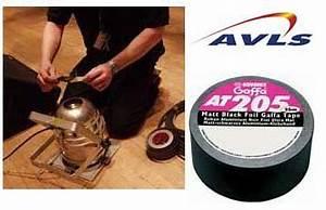 Scotch Haute Température : scotch gaffer aluminium noir haute temp rature pour ~ Melissatoandfro.com Idées de Décoration
