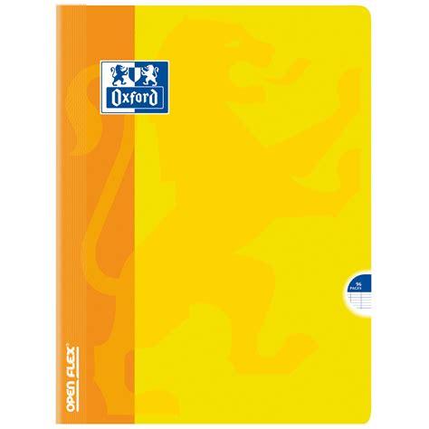 bloc note de bureau oxford open flex cahier 96 pages 24 x 32 cm seyes grands