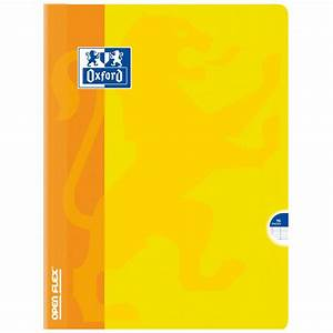 oxford open flex cahier 96 pages 24 x 32 cm seyes grands With cahiers 24x32 grands carreaux