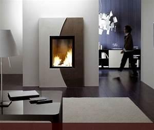 Cheminée à Pellet : cheminee moderne a granule ~ Edinachiropracticcenter.com Idées de Décoration